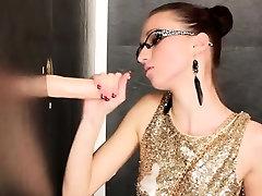 Glamour slut bukkaked