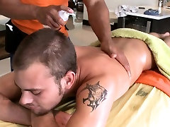 Adorable anal poundings during massage