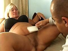 Blondy latina punishment BBW and big cock