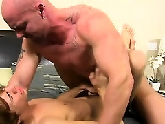 Gay deep throat fucking He calls the poor fellow over to his