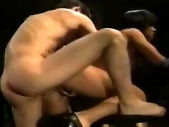 Aja, Tom Chapman in hardcore classic bead room sleep mom son sex with lots of