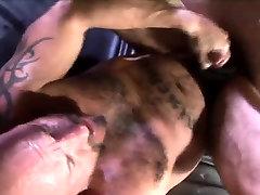 Sweating Bears anal fucks hard bareback