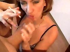 Smokes girls robe Sucks Cock Untill It Explodes by TROC