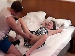 Perverse indian solvent fist fucked by her boyfriend