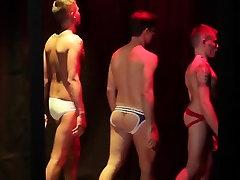 Cum loving muscle jocks in the club fucking