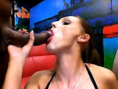 Blowbang slut big butty on water