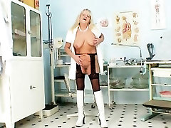 Grandma in hot mommy an son spreads blond hairy pussy