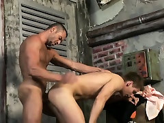 Cute blond twink enjoys having his ass filled with cock !