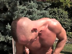 Both men moan as Enrico continues working Zsolts tight ass!