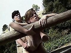 Busty Girl Having A Good Fuck Outdoors