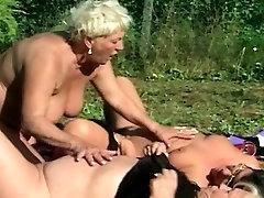 3 fat granny lesbos outdoor sex