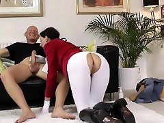 Mature milf rides big rod