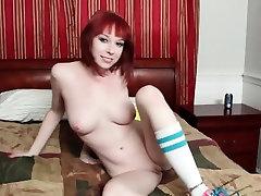 Red Head Zoey Nixon Sucks Dick on the POV deborah wells ass Couch