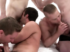 Gay jock orgy with cock hungry amateurs