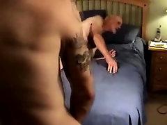 Horny amateur straight bear gay sucking