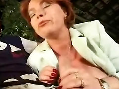 Horny old mature fucked