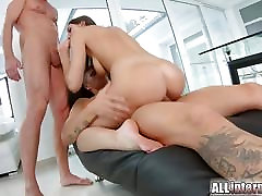Allinternal fast fucking leaves this babe filled with cum