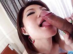 Amateur Miki Uemura plays nasty in pure 50 plus hotel porn