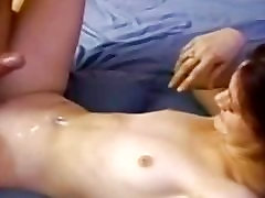 Smalltited retro amateur pussyfucks oldman