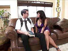 Big titted babe Lisa Ann bags herself a toyboy