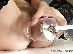 This blonde darling loves to squirt so much