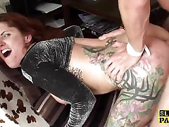 Redhead wife sells brit dominated with anal fucking