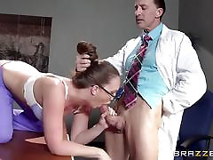 Nurse Maddy OReilly puts things right with a fucking