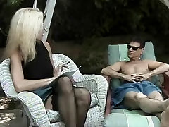 Hot carmen kinsley all oiled up ava adoms vs daniel bryan Cougar Dallas Banging Poolside