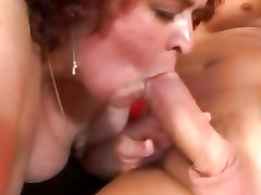 Gorgeous Raunchy bitch Gaborne feeds her cum hunger swallowing loads of jizz