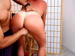 Horny girl gets fucked from behind
