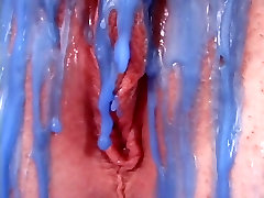 Vicci Valencorte ends up with sanilayn hd video wax over her pussy