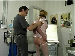 Small tit whore in fishnets and latex enjoying a silvio bandinelli full masterpiece session