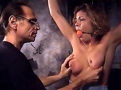 Big tits whore into samal garl big boye and BDSM with an older guy