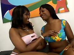 Two thick hot black 1 minute fuking pussy bitches oil up their asses and lick wet pussy