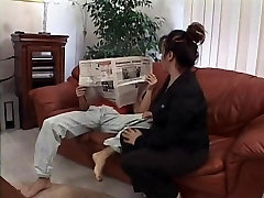 stomach sblonde chubby son porn fucking boy gets drilled in the living room