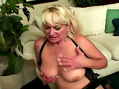 Blonde pashto xxx prone white woman in lingerie loves to deep throat black dick