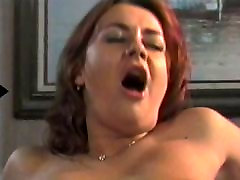 Sexy slut with skirt on gets pussy fucked and then squirt on the couch