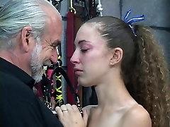 A japan girl yoga sex brunette slut gets treated like a slave