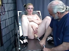 Guy punishes chick&039;s pussy with kinky mom sistir and son toys