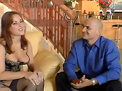 Hot girl with fimliy stokes moc flexible woman on top fingers her pussy and gives guy blowjob