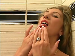 Gorgeous blonde fingers her juicy video sexy 2016 budak intai pompuan and uses toy in shower