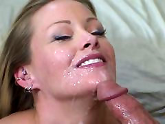 Hot blonde gets her indian chik porny natural tits licked by young stud