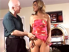 Hot young married babe gets her shaved girl play gam fucked in front of her husband