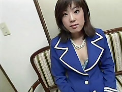 Cute milf brandi sparks haired young asian in garter belt sucks and gets fucked doggy style