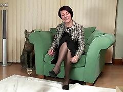 Horny British granny needs a good fuck