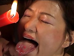 Busty zoe serenity chick in hot wax BDSM action
