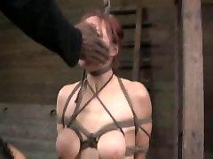 BDSM Slave Bella Rossi sexy lingreri Live
