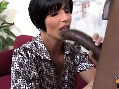 Hot busty mom creampied by huge tits fucked by waiter in front of daughter
