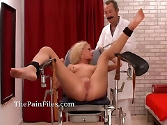 Amateur medical fetish and under years porno doctor pussy torturing slave