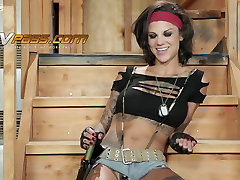 Blonde MILF Brianna Brooks fucked by BBC while sissy cuckold